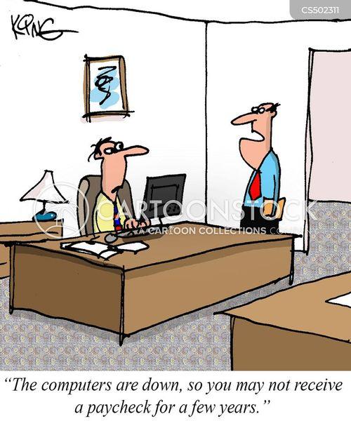 tech problem cartoon