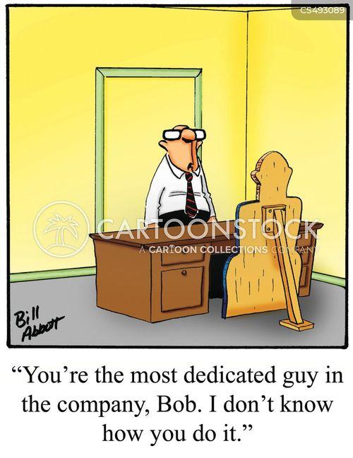 dedicate cartoon