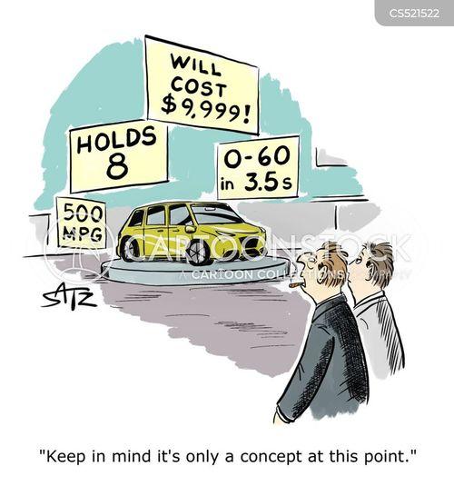 car company cartoon
