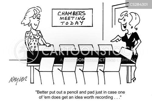 chamber cartoon