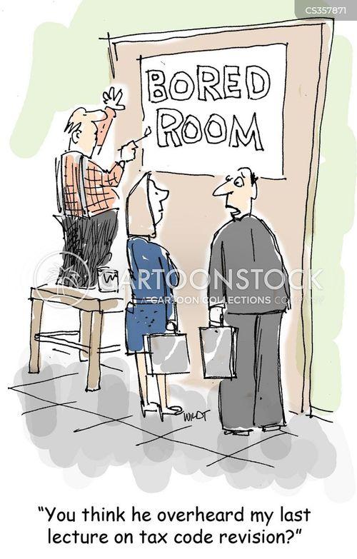 tax codes cartoon