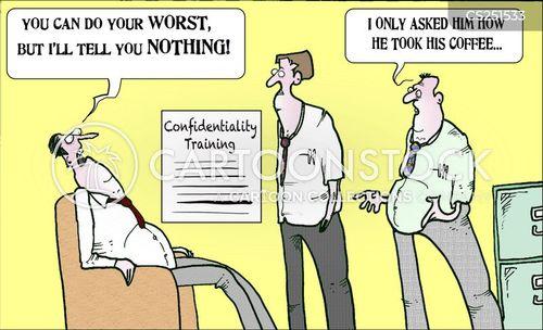 interrogated cartoon
