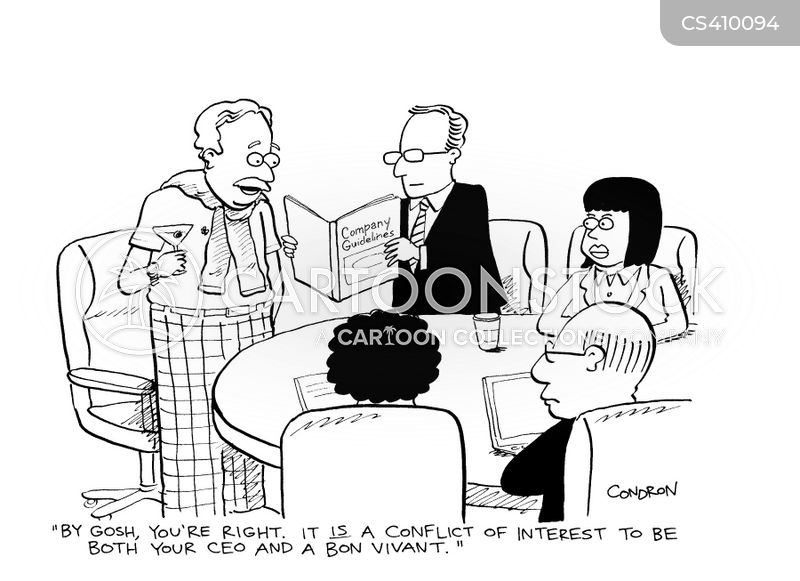 Conflict of Interest Cartoons Free Conflict of Interest Cartoon 8
