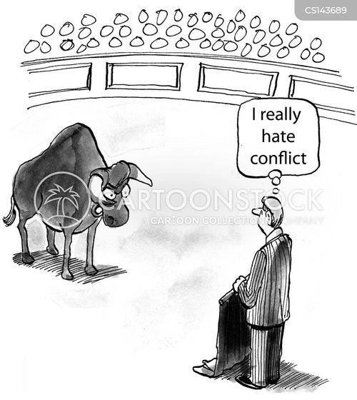 toreros cartoon
