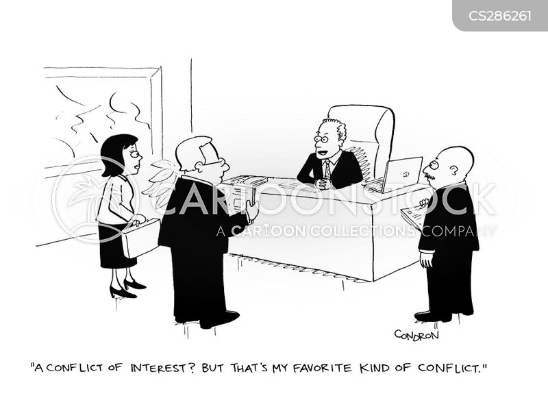 Conflict of Interest Cartoons Free Conflict of Interest Cartoon 9