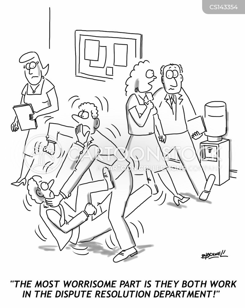 conflict manager cartoon
