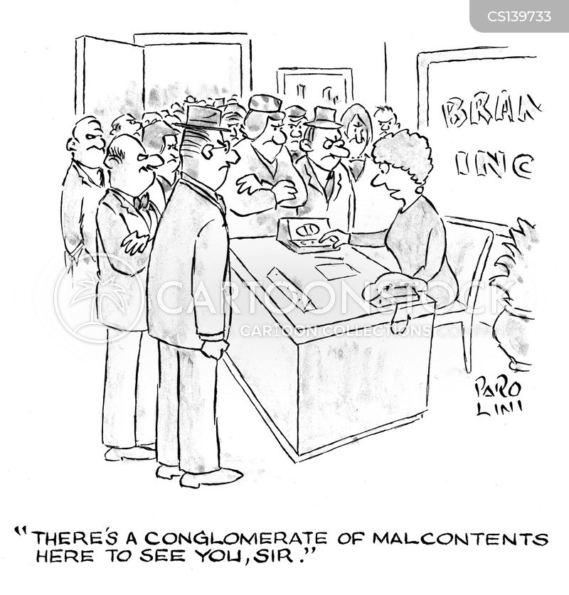 malcontents cartoon