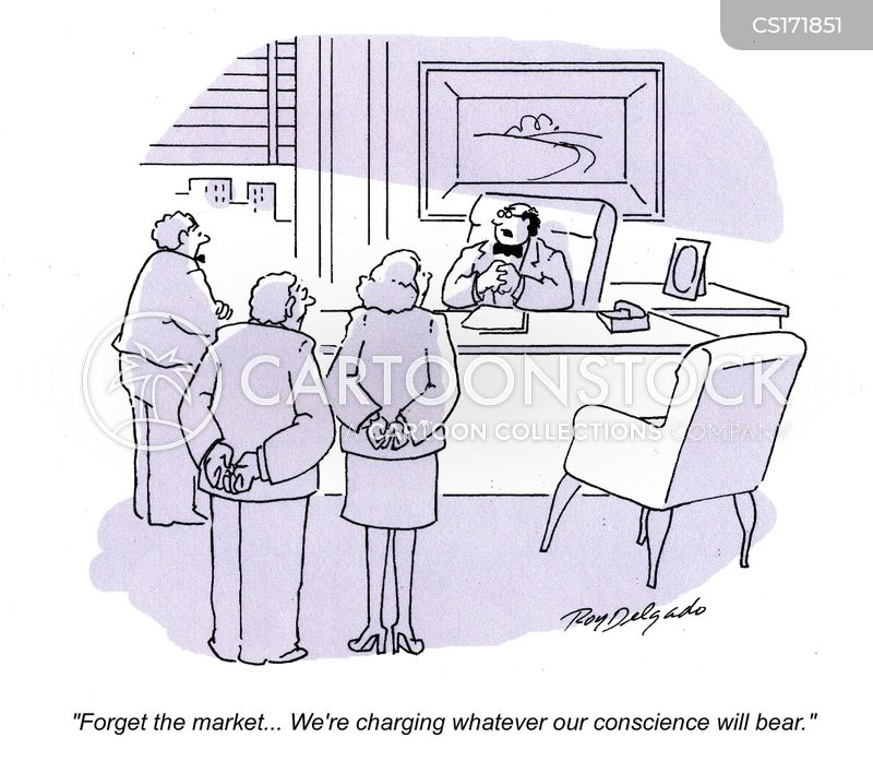 charging cartoon