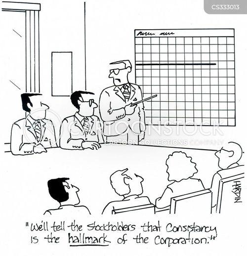 stock holders cartoon