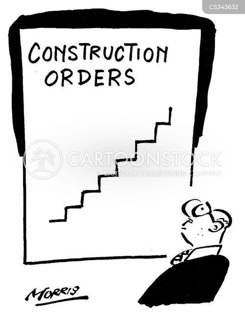 constructing cartoon