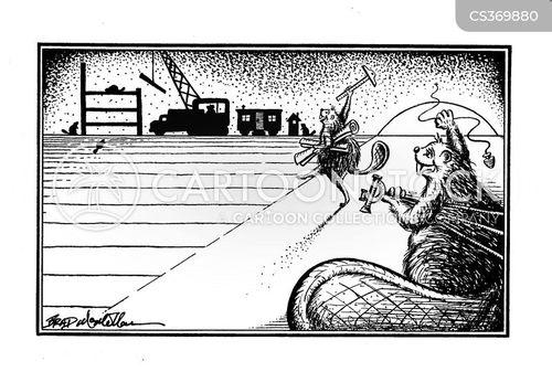 house building cartoon