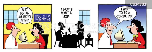 job centres cartoon