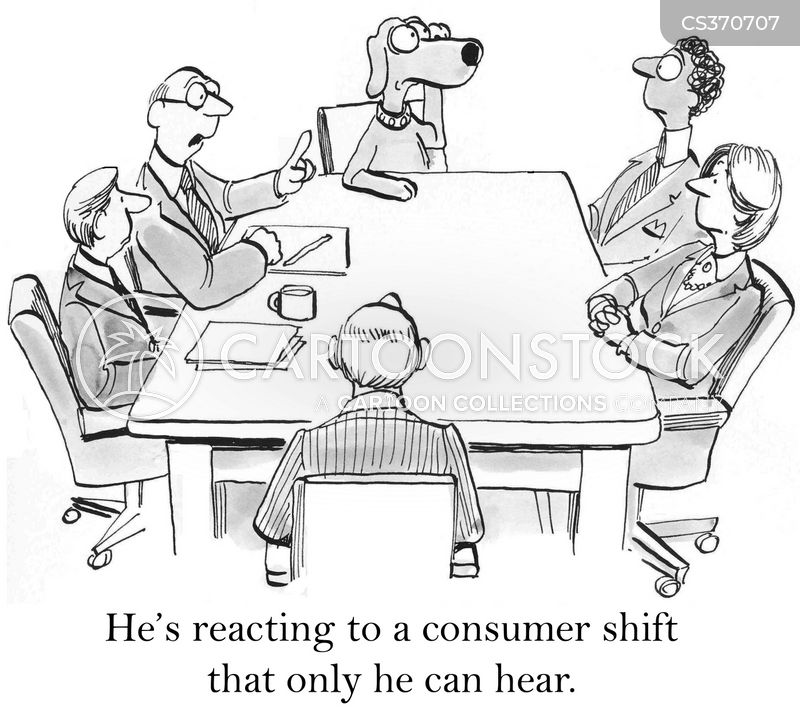 financial experts cartoon