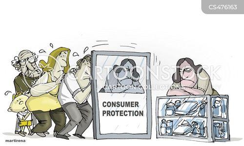 consumer protection cartoons