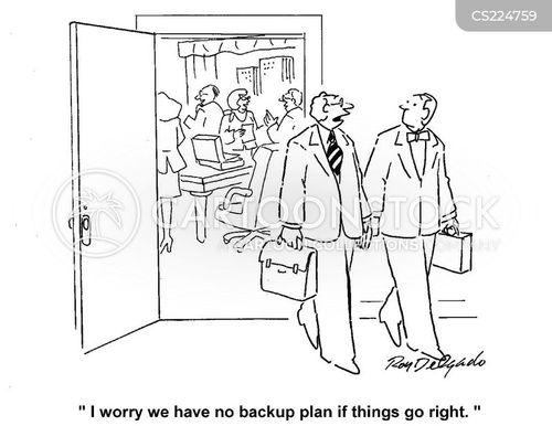 contingency cartoon