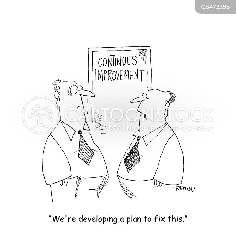 Continuous Improvement cartoons, Continuous Improvement cartoon, funny, Continuous Improvement picture, Continuous Improvement pictures, Continuous Improvement image, Continuous Improvement images, Continuous Improvement illustration, Continuous Improvement illustrations