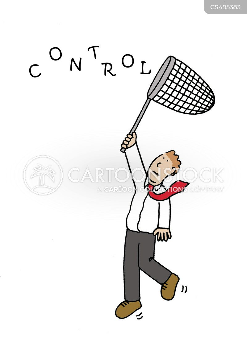 controlling behaviour cartoon