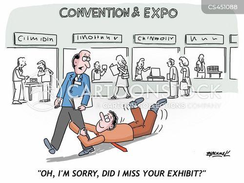 expos cartoon