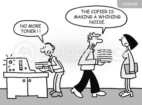copier cartoon