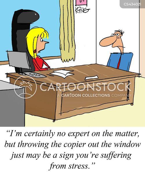 copiers cartoon