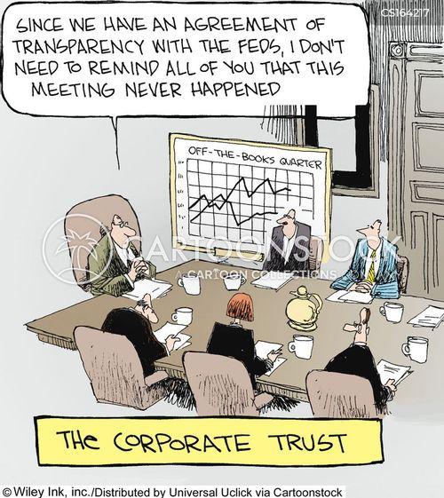 Cartoon – The Corporate Trust | HENRY KOTULA