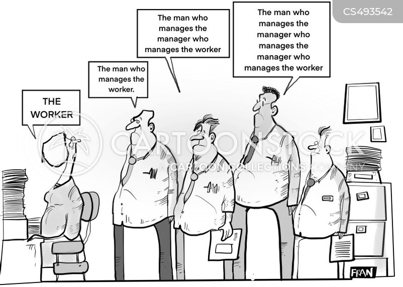 management systems cartoon