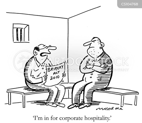 bribery acts cartoon