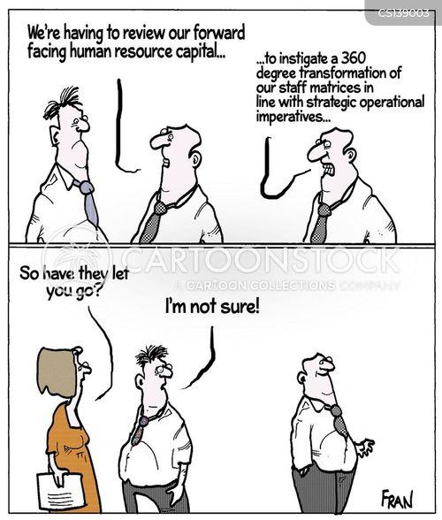 staffing restructures cartoon