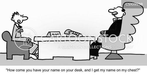 name plate cartoon