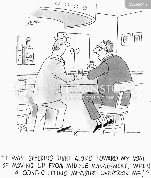 cost cutting measures cartoon