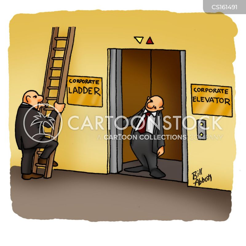 promotional ladder cartoon