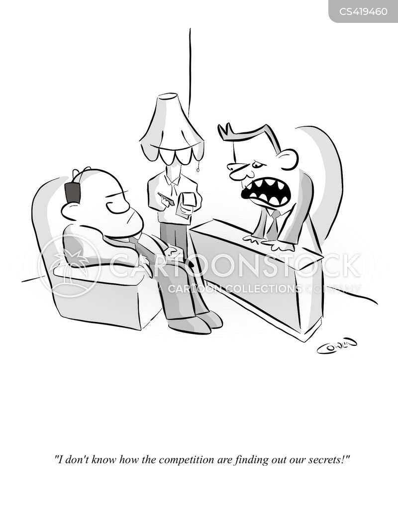 corporate spy cartoon