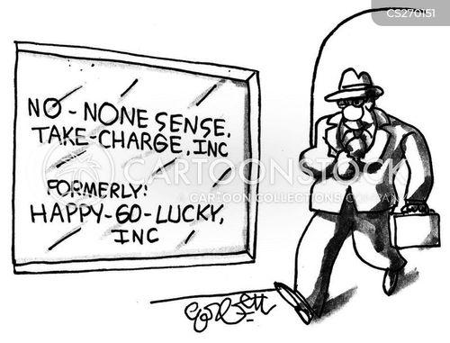 happy go lucky cartoon
