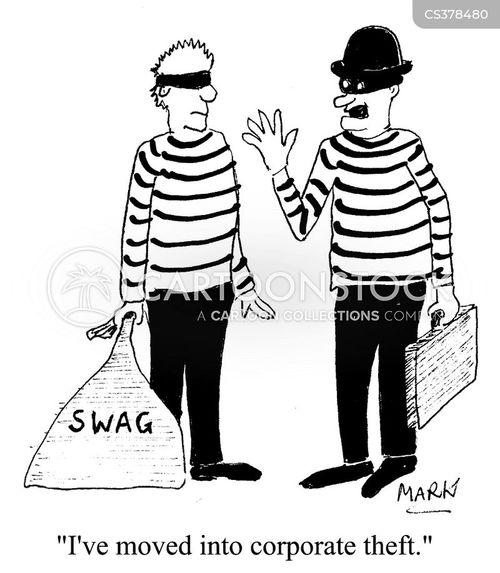 Corporate Theft Cartoons And Comics