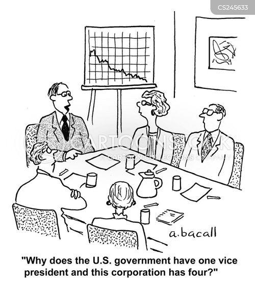 vice-presidents cartoon