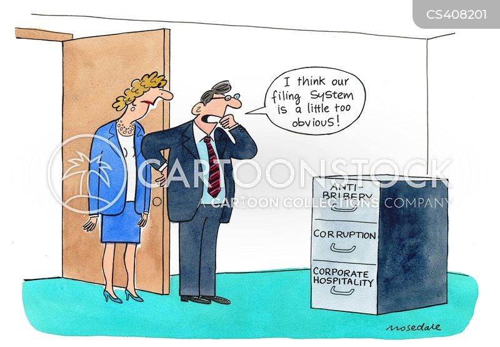 legal framework cartoon