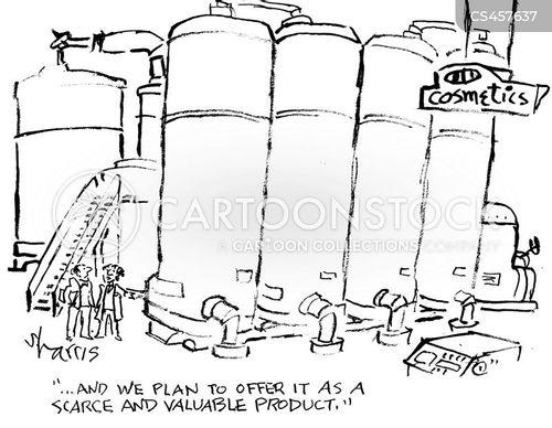 scarcity cartoon