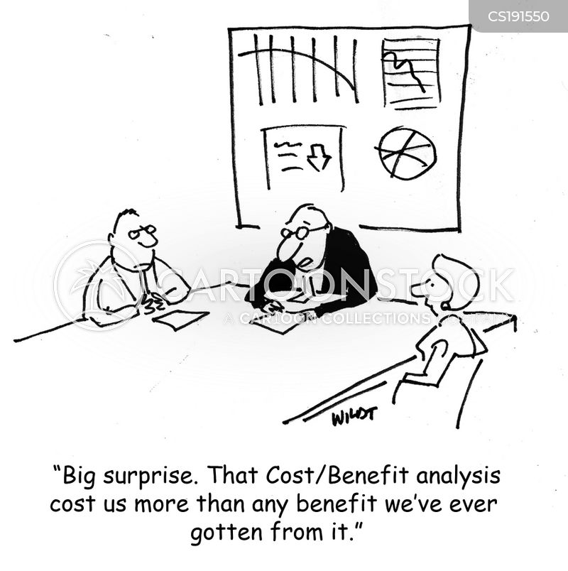 Cost Benefit Analysis Cartoons And Comics  Funny Pictures From
