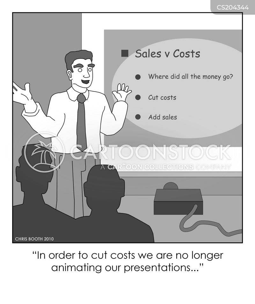 cost-cutting cartoon