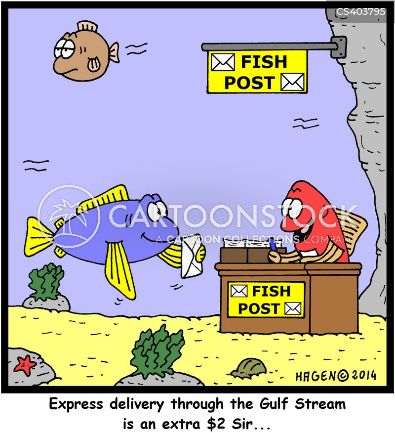 delivery charge cartoon