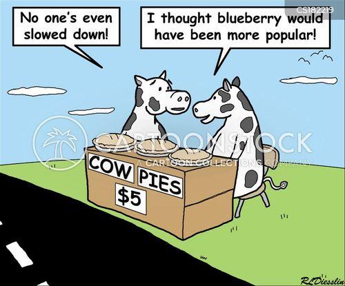 cow pats cartoon