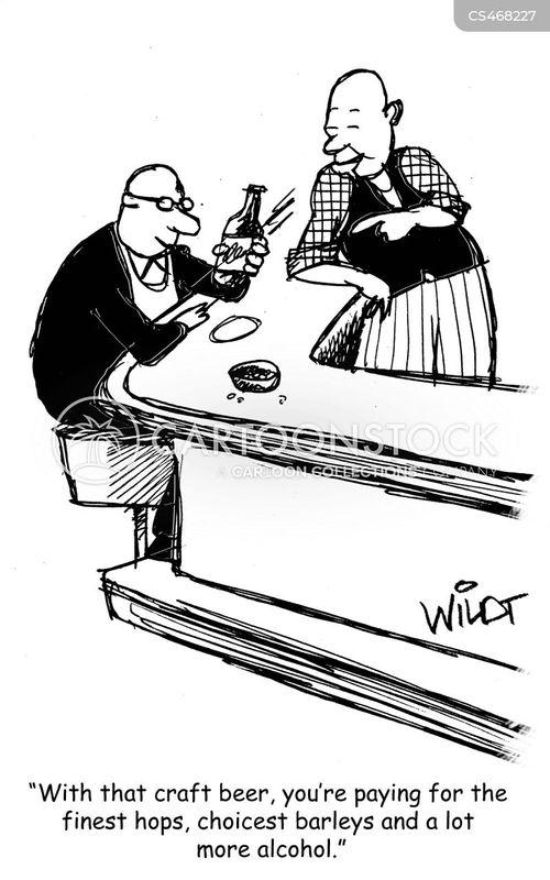 microbrews cartoon