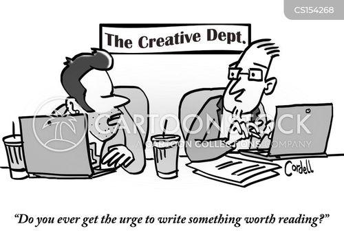 self-doubt cartoon