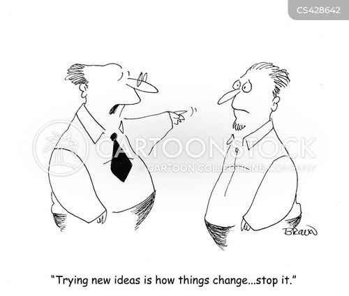 status quo cartoon