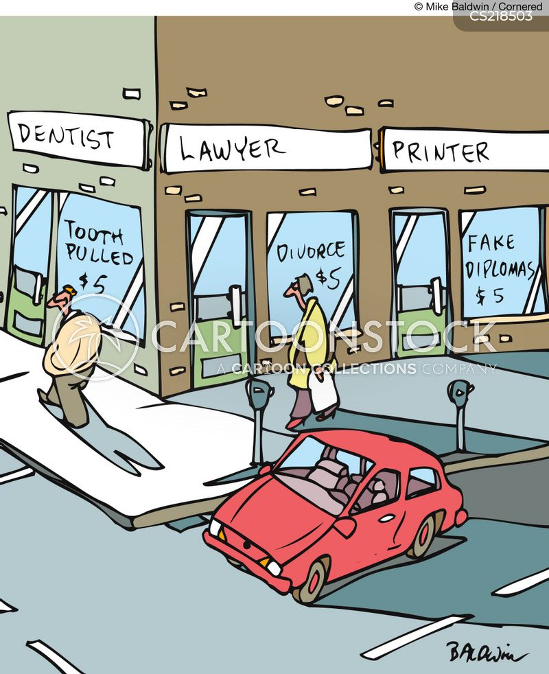 extractions cartoon