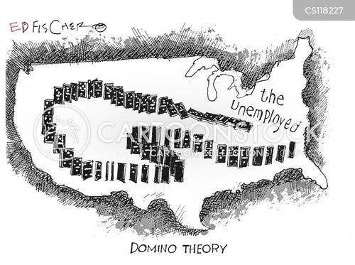 domino effects cartoon