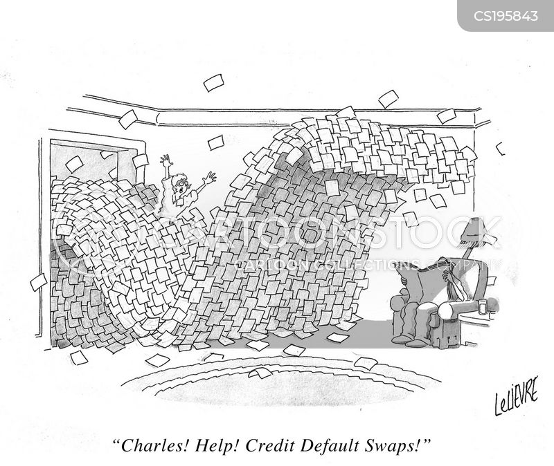 credit crunches cartoon