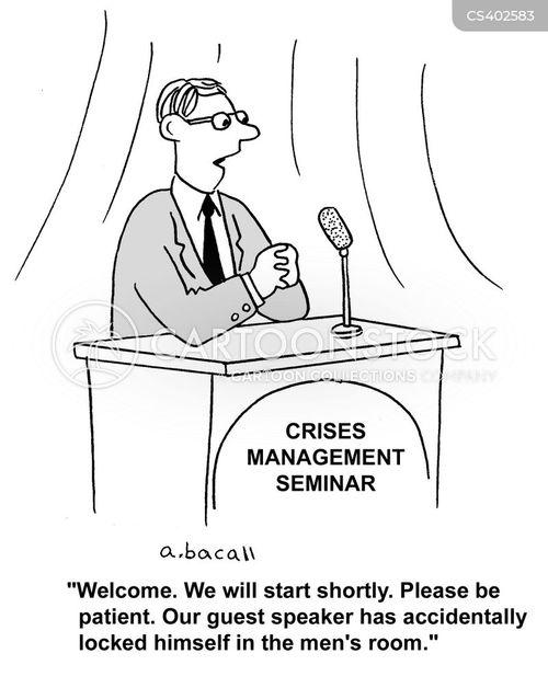 guest speakers cartoon