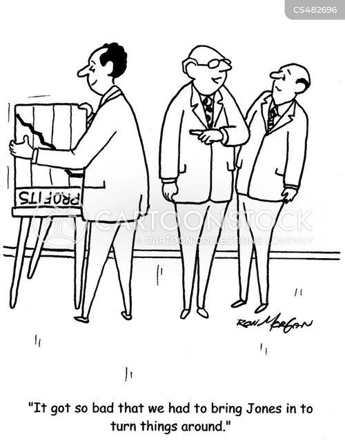 crisis manager cartoon