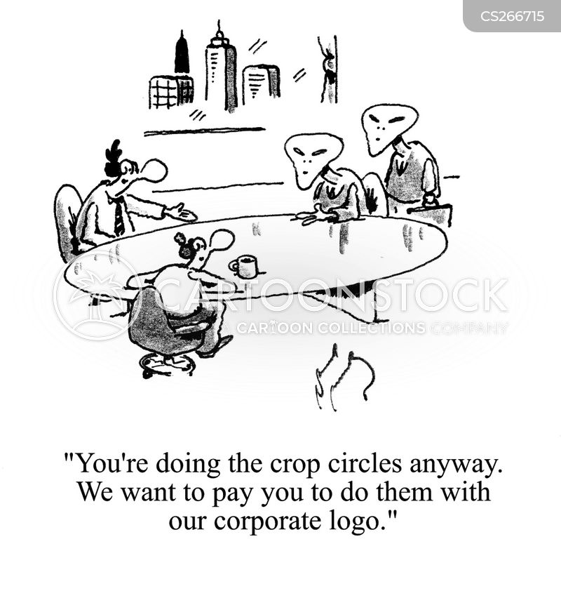 corporate logo cartoon